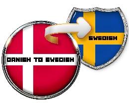 Oversæt dansk til svensk